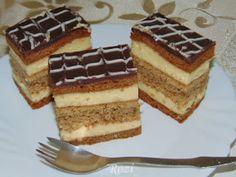 Rozi Erdélyi konyhája: Kavart diós, mézes krémes Baking Recipes, Cake Recipes, Poppy Cake, No Bake Cake, Tiramisu, Food And Drink, Sweets, Cookies, Ethnic Recipes