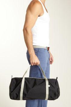 American Apparel Men Nylon Duffle Bag