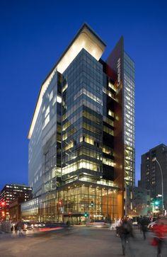 Le Quartier Concordia - John Molson School of Business / KPMB Architects with Fichten Soiferman et Associés Architectes © Marc Cramer