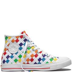 Chuck Taylor All Star Pride Weiß white/multi/white