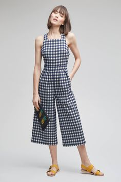Shop the Karin Gingham Jumpsuit, Blue and more Anthropologie at Anthropologie. Read reviews, compare styles and more.