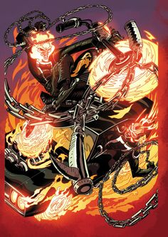 ALL-NEW GHOSTRIDER#8 COVER
