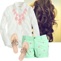 """Statement Necklace-Preppy Style"" by raining-crystals on Polyvore                                                                                                                                                                                                                                                                                                                                                                                                                                                                                                                                                             by raining-crystals"