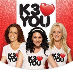 K3 haalt opnieuw de Single ultratop 50 met k3 loves You op Nummer 44 is sinds 2010 niet meer gelukt