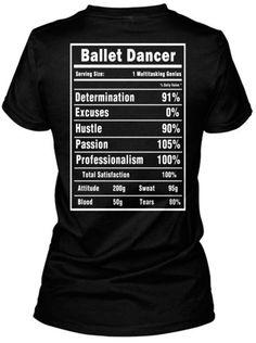 Ballet Dancer T-Shirts and Hoodies - Cibella needs this!