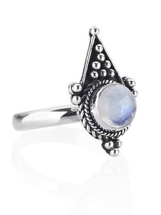 Crux Rainbow Moonstone Ring