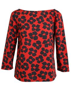 DRIES VAN NOTEN | Poppy Printed Cotton Top