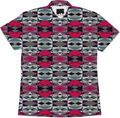 Pink Gray Black Abstract from Print All Over Me