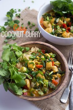 Easy Coconut Curry -