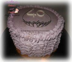 Buttercream Cake, Cake Decorating, Birthday Cake, Cakes, Sweet, Buttercream Ruffles, Candy, Cake Makers, Birthday Cakes