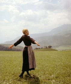 The Sound of Music...loved this movie. Still do :) Austria, going there to live like maria