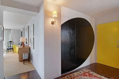 sliding doors as art