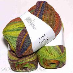 Grün-Rot Tosca Light von Lang Yarns Yarn Color Combinations, Lang Yarns, Yarn Colors, Knit Crochet, Knitting, Shops, Wool Yarn, Knitting And Crocheting, Red