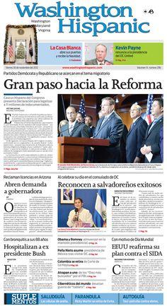 Nuestra edición del 30 de Noviembre de 2012: http://www.washingtonhispanic.com/index.php?mod=historico=264