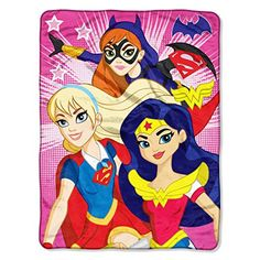 "DC Comics Super Hero Girls, ""Look Sharp"" Micro Raschel Th... https://www.amazon.com/dp/B01E6P7FRA/ref=cm_sw_r_pi_dp_A1uFxbFRGAF5F"