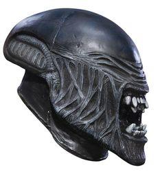 Alien Child Vinyl Mask