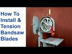 Bi metal bandsaw blade call 8666776623 bandsaw blades pinterest 49 how to change a bandsaw blade tension bandsaw blades youtube keyboard keysfo Image collections