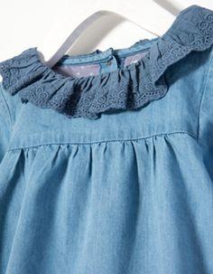 ZIPPY Baby Girl Denim Dress Details #ZYFW15 #5514445