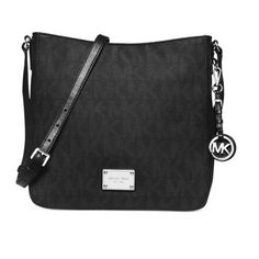 Michael Kors Jet Set Travel Black Crossbody Handbag $180 from Macy's