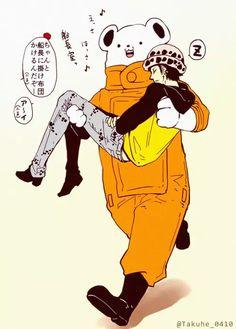 one piece , trafalgar law One Piece Fanart, One Piece Anime, Ace And Luffy, One Piece Pictures, Trafalgar Law, Manga Games, Grumpy Cat, Single Piece, Fictional Characters