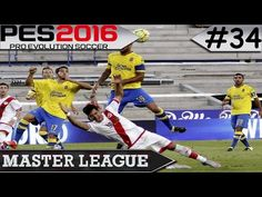 PES 2016 Master League #34 Las Palmas