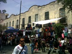 Tianguis Cultural El Chopo in Cuauhtémoc, Federal District