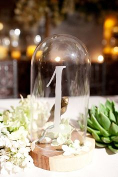 Wedding Details......table numbers