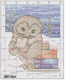 Схема вышивки по советским открыткам, для девушки