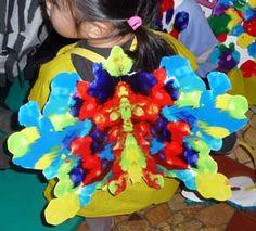 costume de papillon petite et moyenne section de maternelle