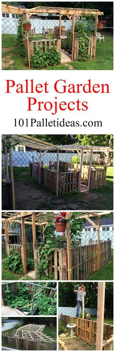 Pallet Garden Projects and Planter - 101 Pallet Ideas