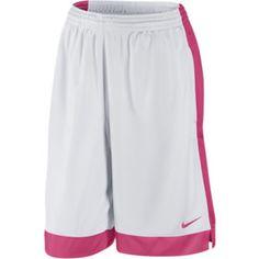 ffb7c077e94c46 Nike Money Women s Basketball Shorts - White