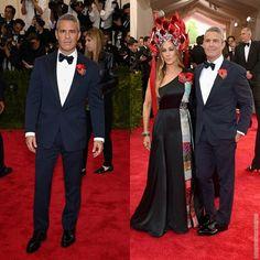 Andy Cohen en Ralph Lauren - Met Gala 2015 'China: Trough the Looking Glass'