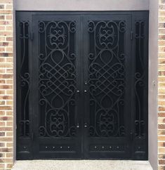 View our wrought large range of wrought iron products. From Wrought Iron Gates to Wrought Iron doors to Wrought Iron balustrades, we've got it all. Or visit our Melbourne showroom today! Wrought Iron Security Doors, Security Gates, Wrought Iron Doors, Security Screen, Main Entrance Door, Entry Doors, Front Entry, Wood Doors, Entryway