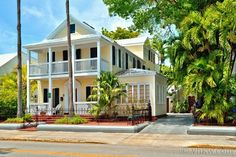 Key West Rentals - 11BR 11BA Sleeps up to 24 2 heated swimming pools (1 with Jacuzzi jets) If you're looking for luxury and plenty of room, The Meeting Point Key West is the grandest vacation rental in Key West, both in stature and style. 7 BR 7 Full BA Victorian Mansion plus 4 BR 4 Full BA luxury villa. By-far the most spacious and classically elegant vacation rental property on the island.