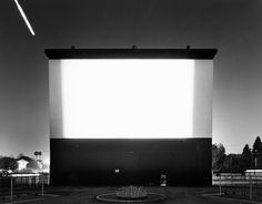 Studio Drive-In, Culver City, 1993 by Hiroshi Sugimoto - Theatres - Nalata Nalata
