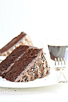 Deathy by Chocolate Coffee Layer Cake