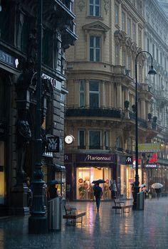 Rain in Vienna | Flickr - Photo Sharing!