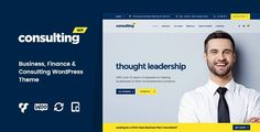 Best Consulting - Business, Finance WordPress Theme