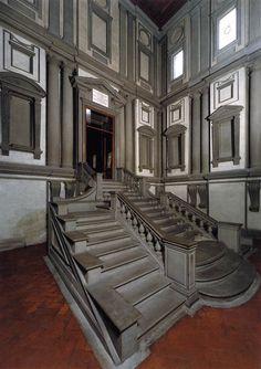 FIRENZE Scalinata di Michelangelo - Biblioteca Medicea Laurenziana