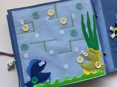 Quiet book PAGE maze busy book activity book sensory toy
