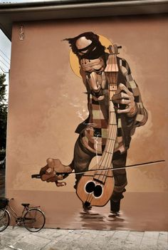 Warped #StreetArt Portraiture by Stamatis Laskos