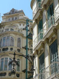 Málaga, center, Spain
