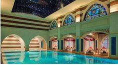 Spa Sensory Journey Unveiled at Talise Ottoman Spa of Jumeirah Zabeel Saray hotel, located on Palm Jumeirah, Dubai. The spa menu offers over 50 treatments. Luxury Escapes, Visit Dubai, Best Spa, Luxury Spa, Luxury Hotels, Luxury Life, Treatment Rooms, Cool Pools, Awesome Pools