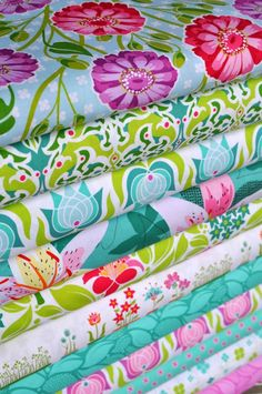 Patty Young, Lush. Handmade image is courtesy of Hawthorne Threads Fabric Bundle