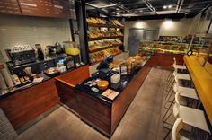 A small coffee shop and bakery from Turkey    designed by rafinart  www.rafinart.com    photographed by Fikirbaz/IOB  www.fikirbaz.com.tr