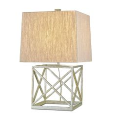 Sefton table lamp by Currey and Company. Candelabra