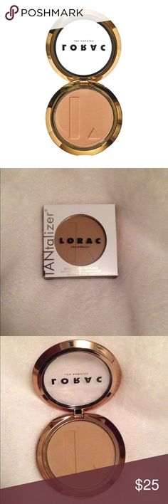 LORAC TANtalizer Buildable Bronzing Powder In the color Pool Party. Was a gift but I'm not interested. Brand new, never used! Lorac Makeup Bronzer