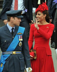 Kate Middleton Wears Customised S/S 2011 Alexander McQueen Dress for the Queens's Diamond Jubilee Parade in London