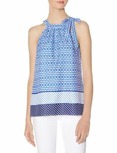 Printed Halter Top from THELIMITED.com