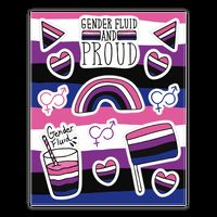 Gender Fluid Pride Sticker